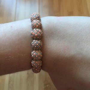 Ann taylor pink bubble bracelet